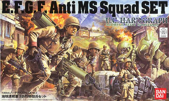 35 E.F.S.F. ANTI MS SQUAD SET