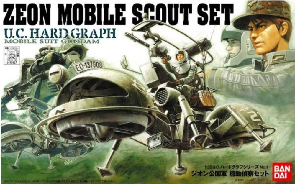 35 ZEON MOBILE SCOUT SET