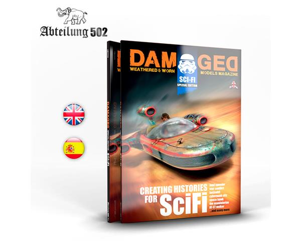 DAMAGED MAGAZINE SPECIAL EDITION SCI-FI