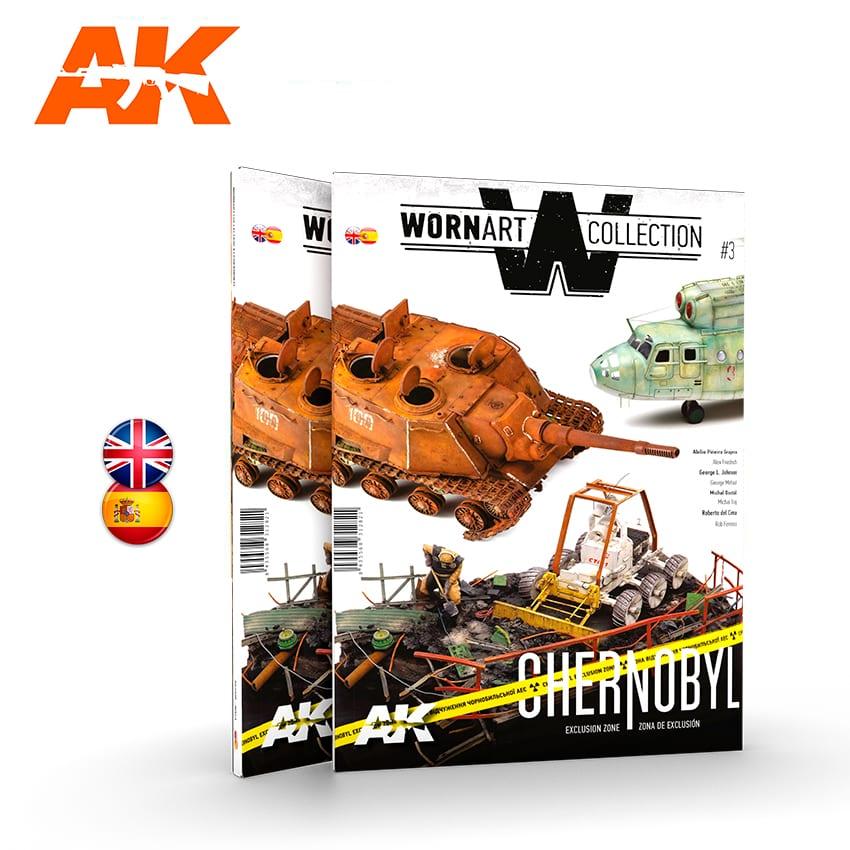 WORN ART COLLECTION 03 – CHERNOBYL