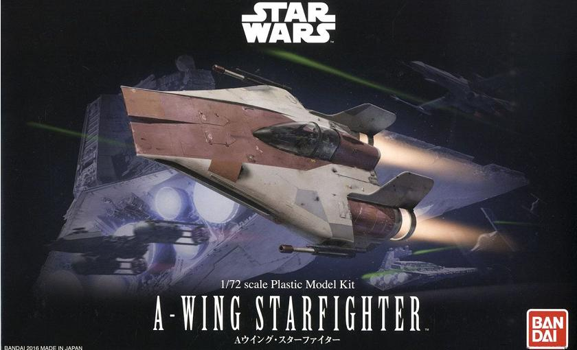 B A-WING STARFIGHTER 1:72