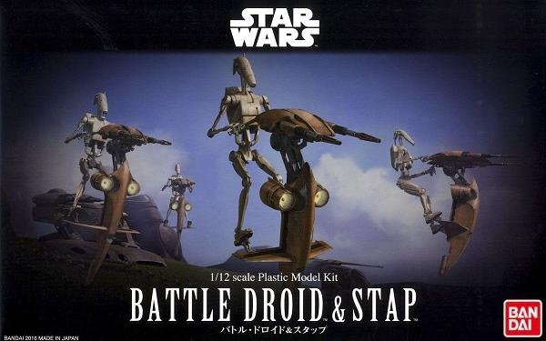 B BATTLE DROID & STAP 1:12