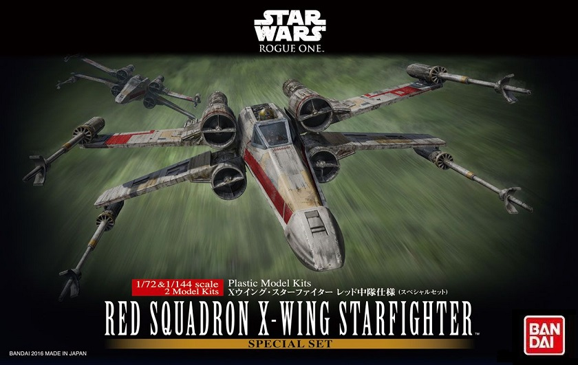 B RED SQUADRON X-WING FIGHTER