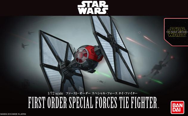 B FIRST ORDER SPECIAL FORCES TIE FIGHTER 1:72