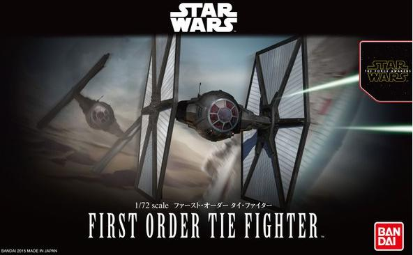 B FIRST ORDER TIE FIGHTER 1:72