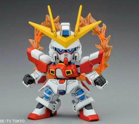 BB BUILD BURNING GUNDAM
