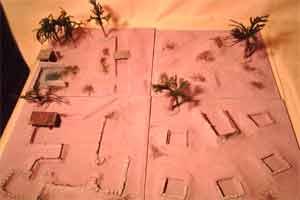 Tavolo gioco desertico per FOW