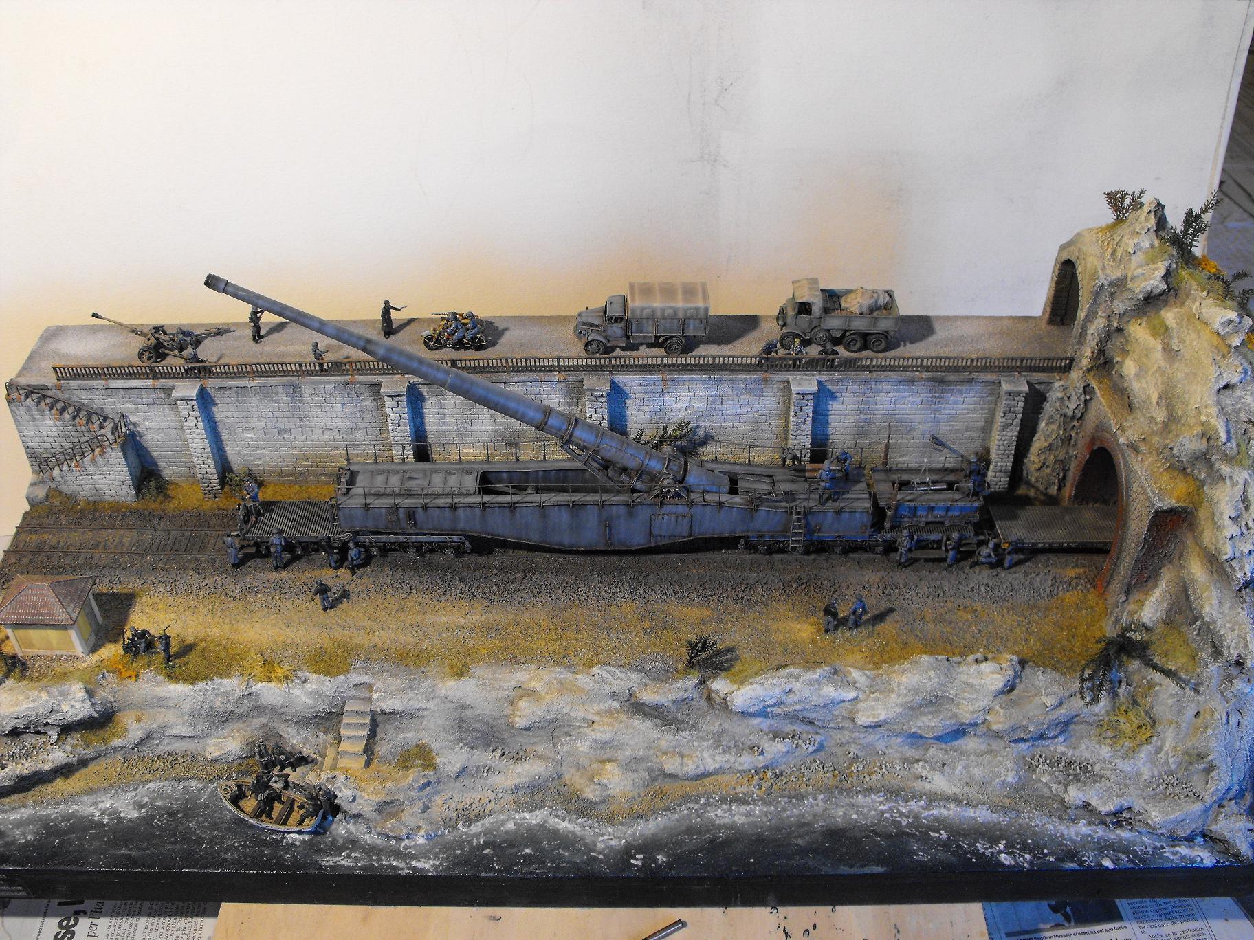 diorama ferroviario scala 1/72 Leopold