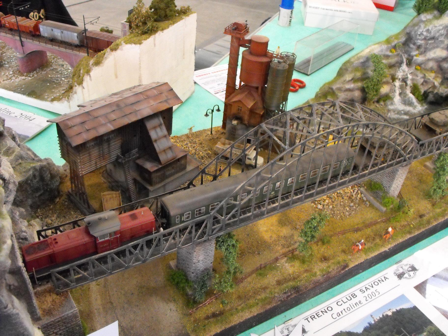 diorama ferroviario scala 1/87 treno trasporto carri armati