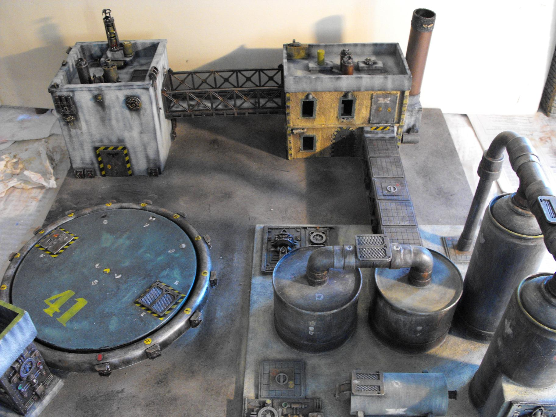 Tavolo gioco per Warhammer 40k