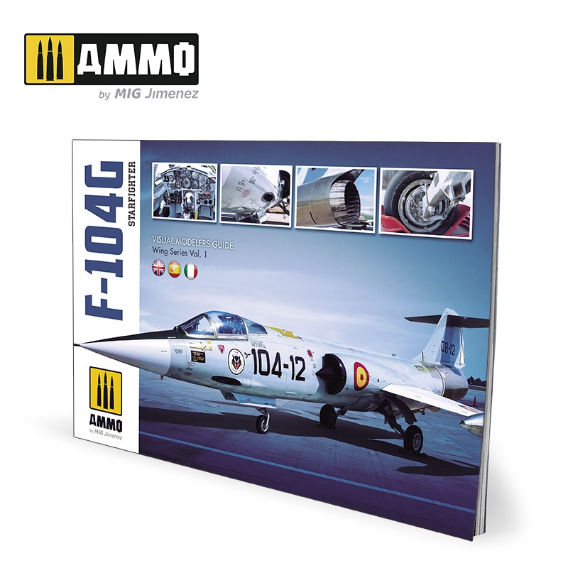 F-104G STARFIGHTER - Visual Modelers Guide (Multilingual)