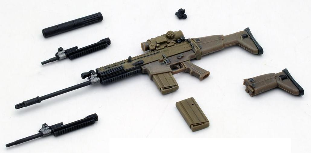 LITTLE ARMORY 003 SCAR-H