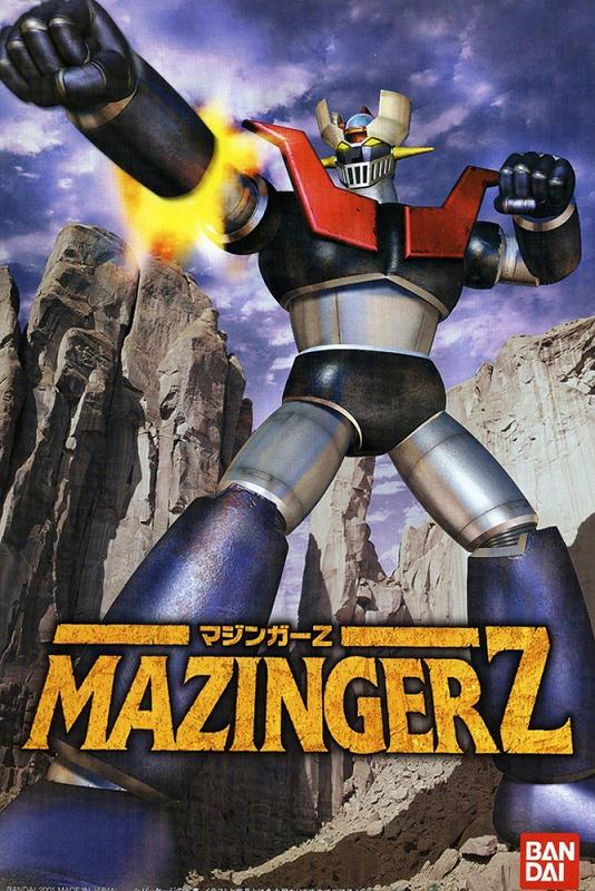 MC MAZINGER Z MODEL KIT