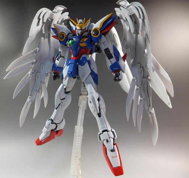 MG WING ZERO CUSTOM EW VER