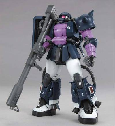 MG ZAKU MS06R BLACK TRISTAR 2.0