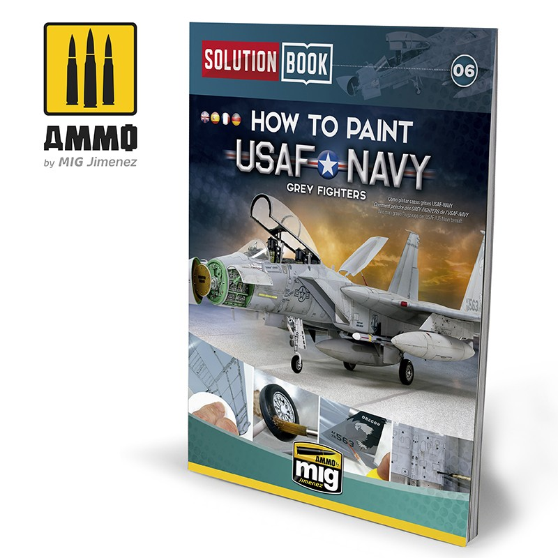 SOLUTION BOOK HOW TO PAINT USAF NAVY