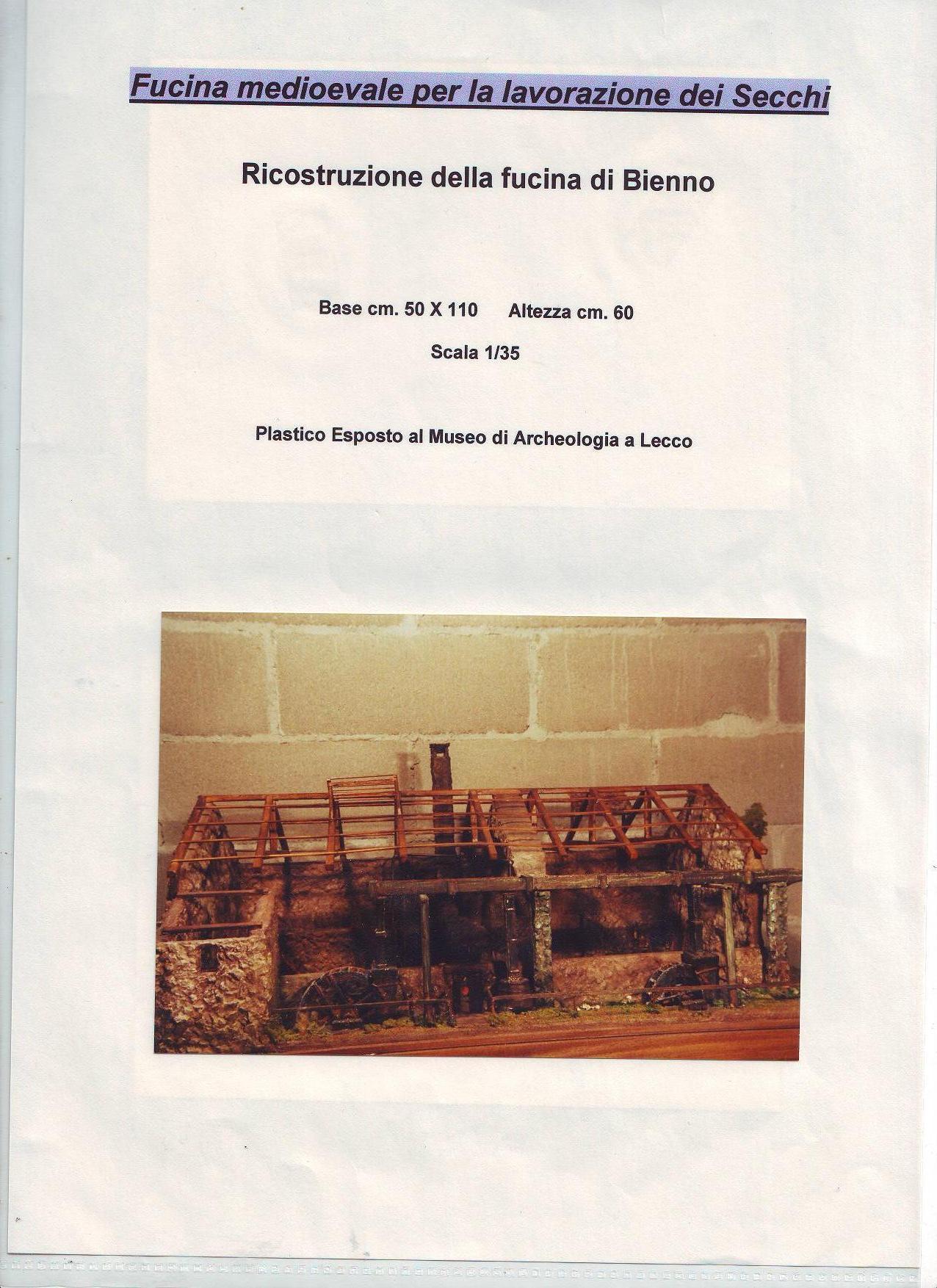 Fucina Medioevale per la costruzione dei secchi