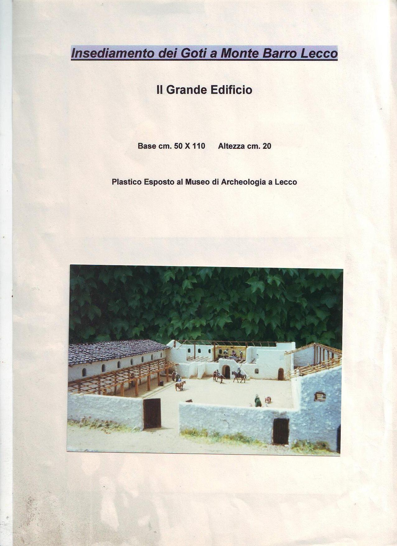 Insediamento dei Goti a Monte Barro