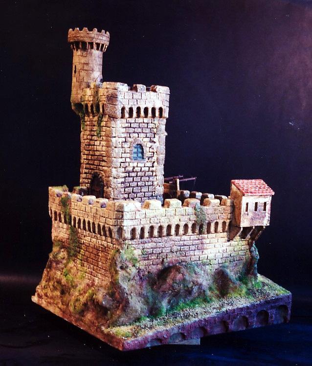 diorami vari castelli