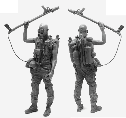 POST APOCALYPTIC U.S. NAVY SEALS