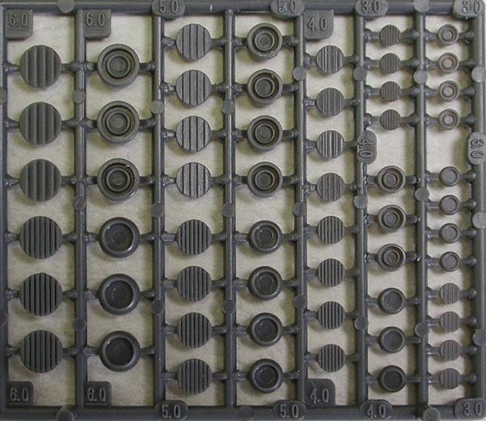 MSG P120 ROUND MOLDS IV