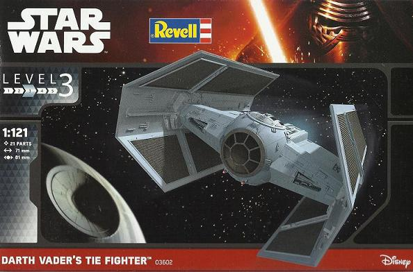 REVELL DARTH VADER'S TIE FIGHTER 02