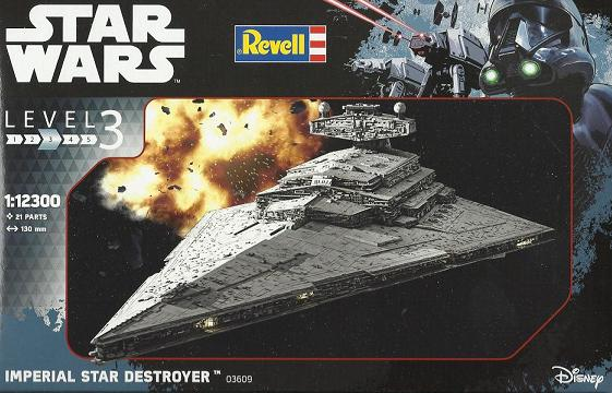REVELL IMPERIAL STAR DESTROYER 02