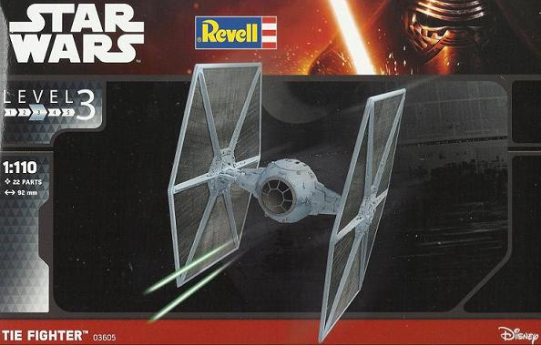 REVELL TIE FIGHTER 02