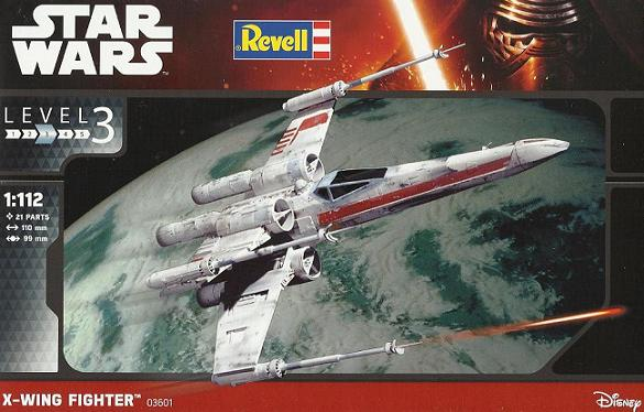 REVELL X-WING FIGHTER 02