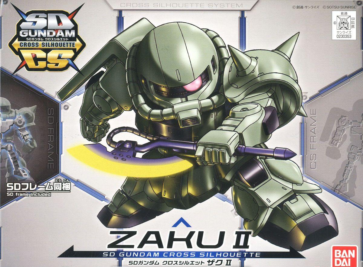 CROSS SILHOUETTE SD ZAKU II