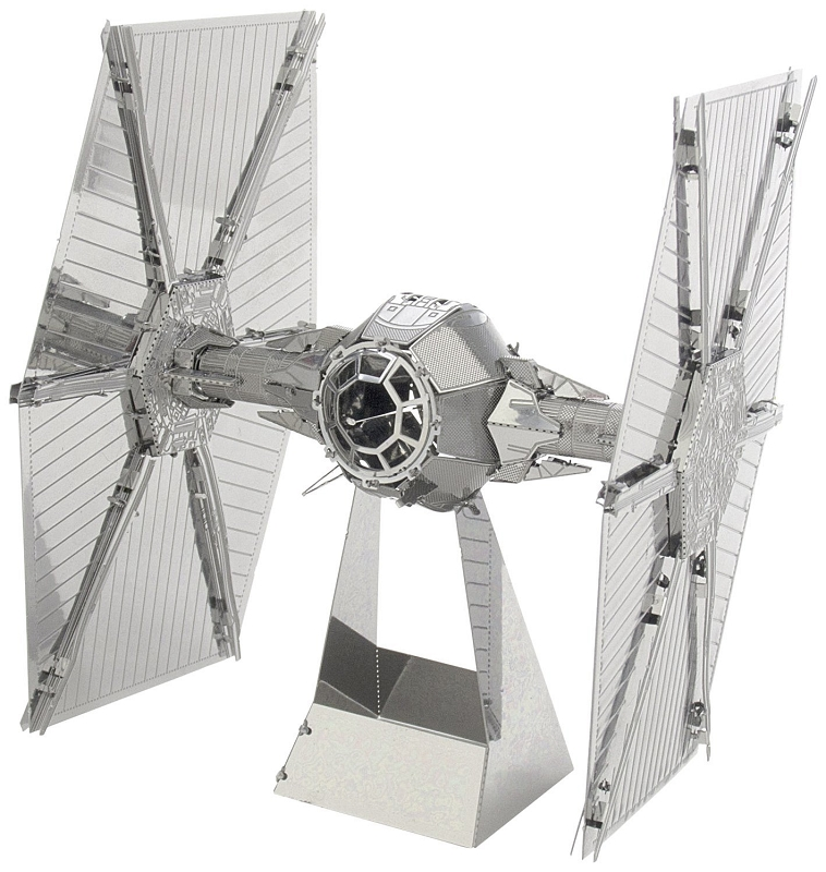 PHOTO ETCHED TIE FIGHTER