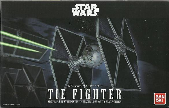 B TIE FIGHTER 1:72