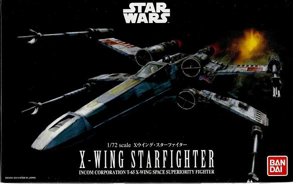 B X-WING STARFIGHTER 1:72
