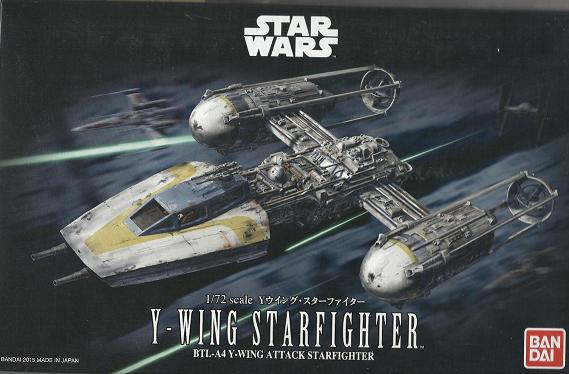 B Y-WING STARFIGHTER 1:72