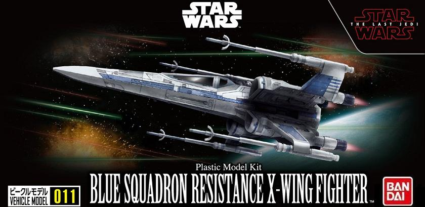B BLUE SQUADRON RESISTANCE X-WING FIGHTER 011