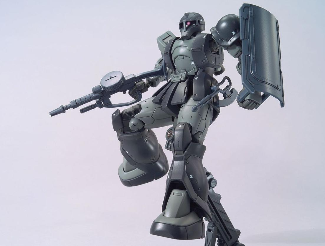 HG ZAKU I MS-05 (KYCILIA FORCES)
