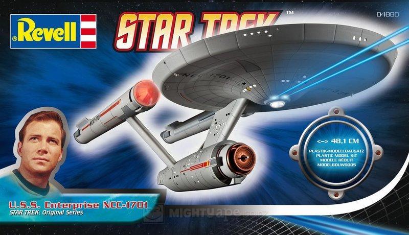 U.S.S. ENTERPRISE NCC-1701 THE ORIGINAL SERIES