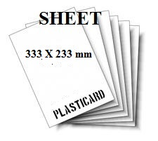 SHEETS DIMENSIONI 333 X 233 mm