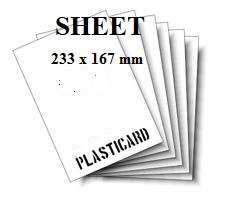 SHEETS  DIMENSIONI 233 X 167 mm